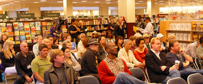 Audience at the Greater Los Angeles Writers Society