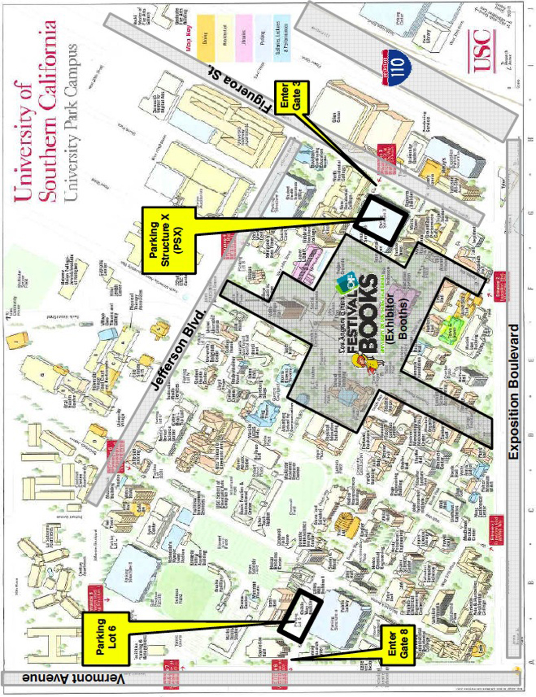 Usc Parking Map Cool Maps, - World Map Database on jcu map, stanford university map, piedmont tech map, la southwest college map, west texas state map, university of ca map, harvard map, university of michigan map, unc map, duke map, ucla map, galveston texas city map, mayo clinic rochester map, hcc ybor campus map, seton hall map, los angeles cities map, michigan state university campus map, uc berkeley map, csu east bay map, university of oregon campus map,