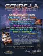 Link to GenreLA Speculative Fiction Creative Writing Conference