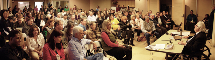 Special Speaker Event Audience at the Greater Los Angles Writers Society