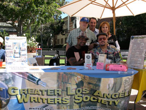 GLAWS at the UCLA Writers Faire